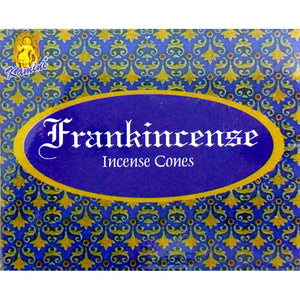 Kamini Frankincense Incense Cones Box of 12 Packs