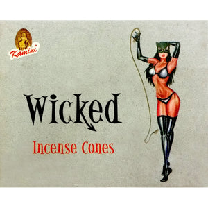 Kamini Wicked Incense Cones Box of 12 Packs