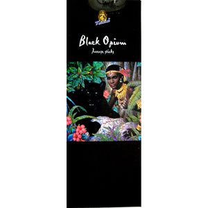 Kamini Black Opium Incense Sticks - 200 Sticks Per Box
