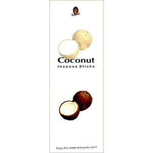 Kamini Coconut Incense Sticks - 200 Sticks Per Box