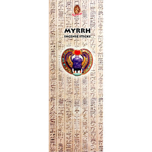 Kamini Myrrh Incense Sticks - 200 Sticks Per Box