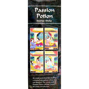 Kamini Passion Potion Incense Sticks - 200 Sticks Per Box