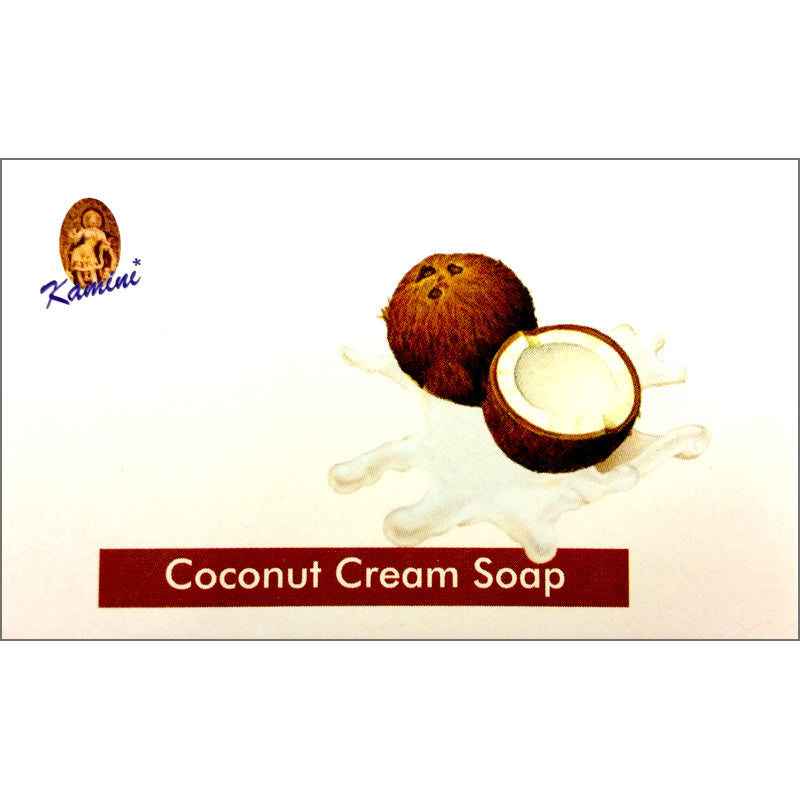 Kamini Coconut Cream 100g Soap Bar