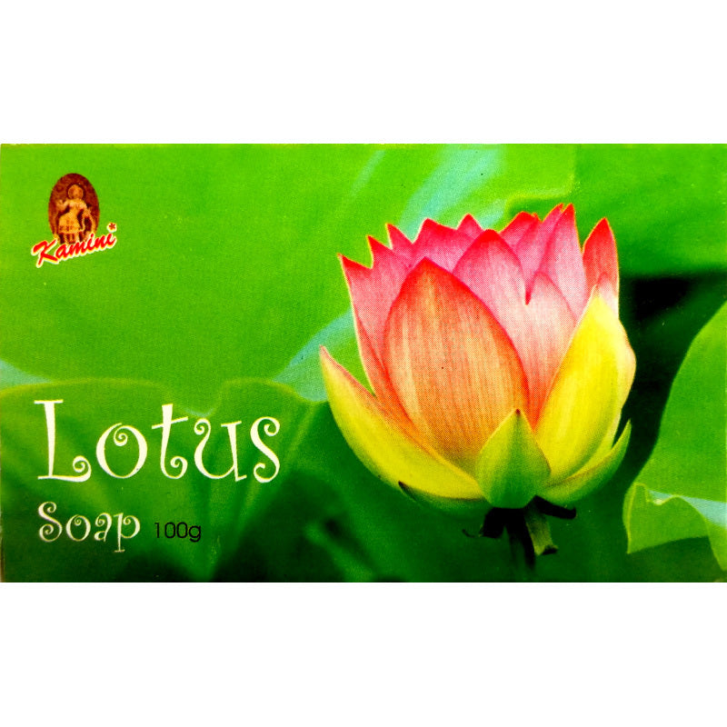 Kamini Lotus 100g Soap Bar