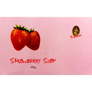 Kamini Strawberry 100g Soap Bar