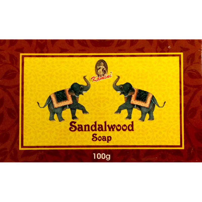 Kamini Sandalwood 100g Soap Bar