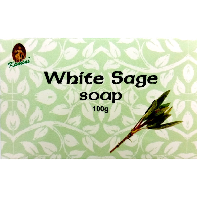 Kamini White Sage 100g Soap Bar