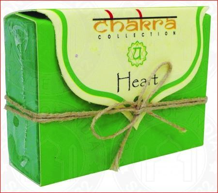 Chakra Collection Heart Chakra 100g Soap Bar