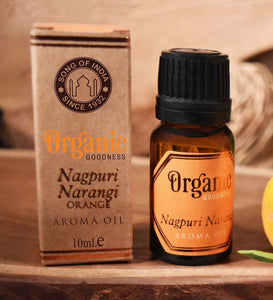Organic Goodness Orange Nagpuri Narangi Aroma Oil 10ml