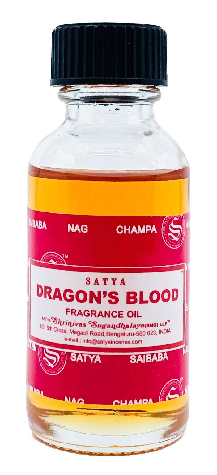 Satya Dragons Blood Fragrance Oil 30ml