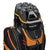 Founders Club Premium 14 Way Cart Bag - Orange