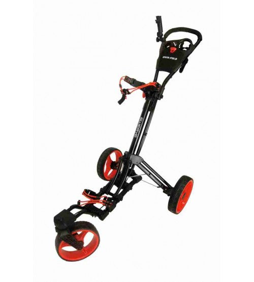 Swerve 3 Wheel Golf Cart - Black