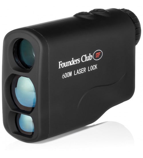 Founders Club Laser Lock 600 Golf Range Finder
