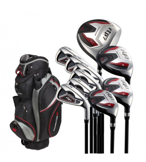 RTP7 Black Complete Set Graphite Senior Flex Right Handed