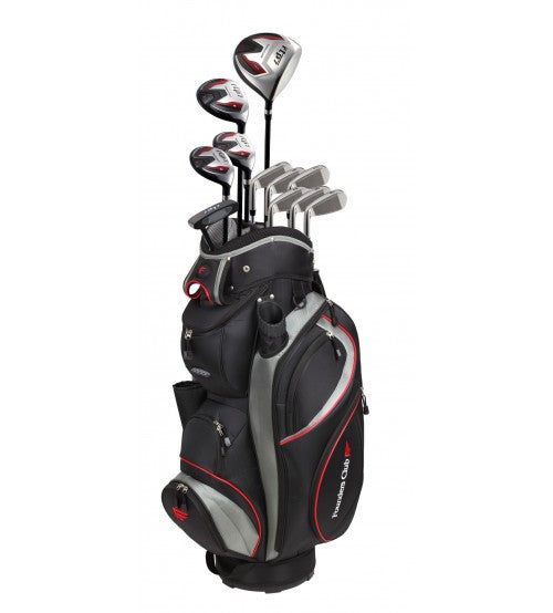 RTP7 Black Complete Set Steel Right Handed Tall Plus 1 inch