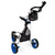 Swerve 3 Wheel Golf Cart - White/Blue