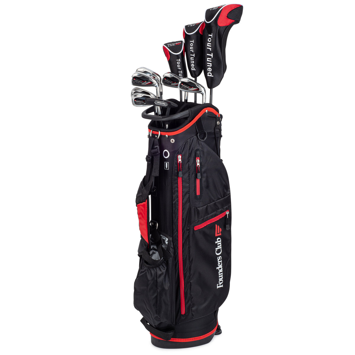 Founders Club Tour Tuned Men's Complete Golf Club Set with Bag…