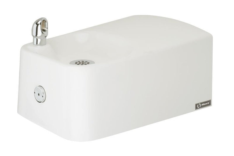 Haws 1075 barrier free polymarble drinking fountain