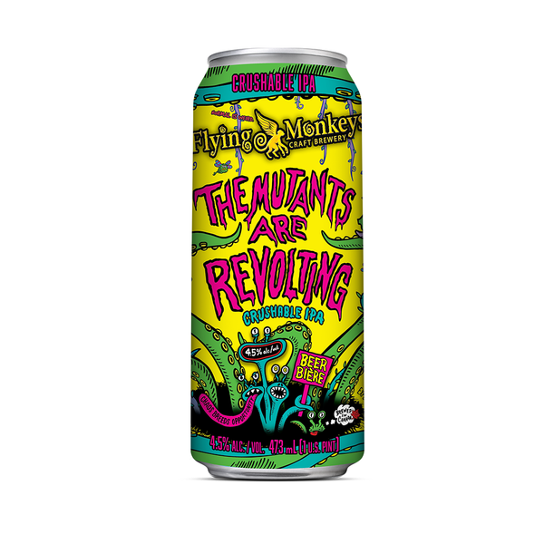 The Mutants Are Revolting Crushable IPA