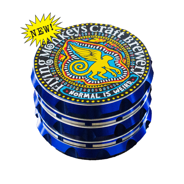 "Party Sized 4-Piece Weed Grinder 2.75"" Diameter"