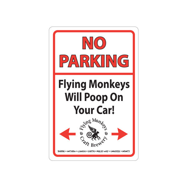 Metal Sign | No Parking