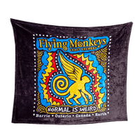 Flying Monkeys Plush Blanket