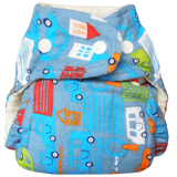 Flannel Fitted (couche moulée)|Flannel Fitted (fitted diaper)