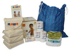 Trousse de couches en coton bio|Organic Cotton Diaper Kit