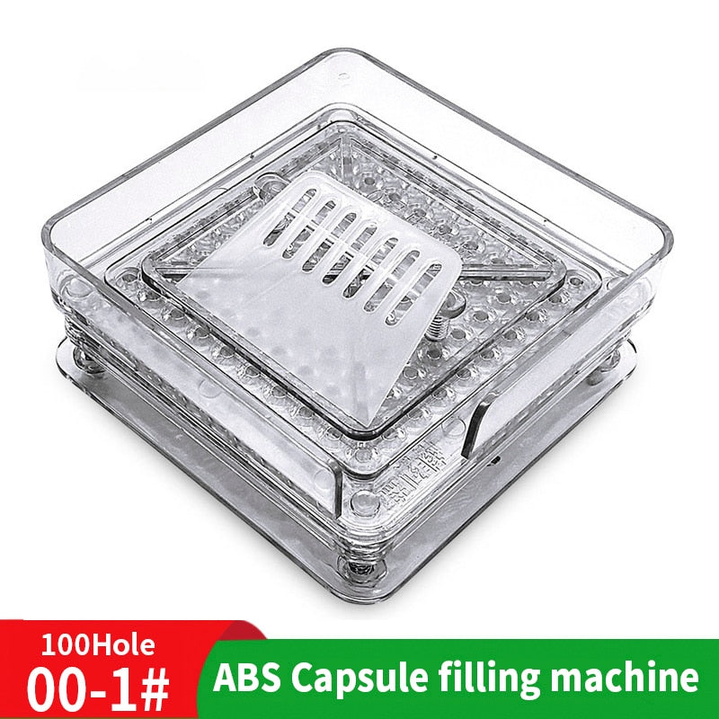 000 # 100 hole ABS Manual Capsule Board 00 # Filling Machine Powder Filling Machine Manufacturer Medicine Filling Board - Original