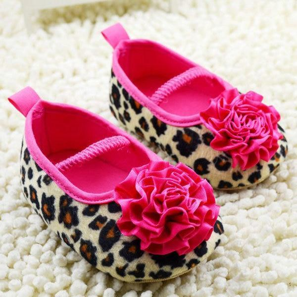 Sapatilha Flor Animal Print Baby - Original