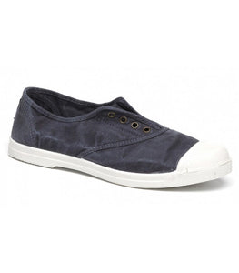 Natural World Women's Sneaker 102E Navy Blue