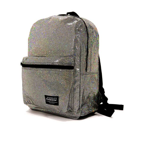 Fydelity Dazzler Glam Glitter Backpack