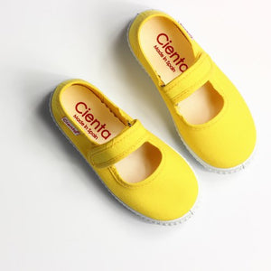 Cienta 56000 Yellow Mary Jane