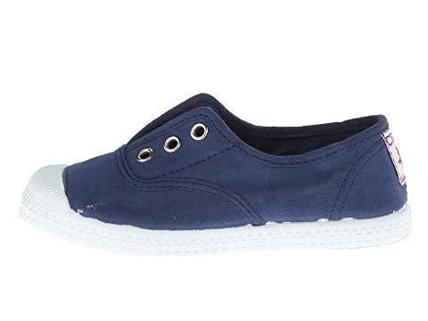 Cienta 70997.48 Navy Canvas Laceless Sneaker
