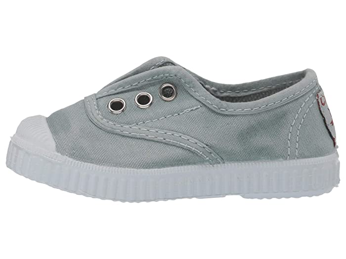 Cienta 70777.164 Washed Mint Canvas Laceless Sneaker