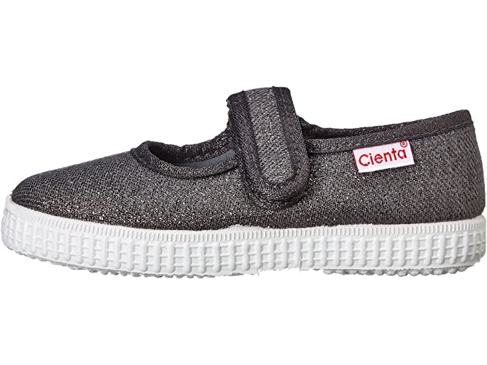 Cienta 56013.23 Grey Sparkle Canvas Mary Jane