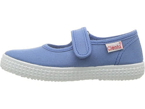 Cienta Girl's 56000 French Blue Mary Jane
