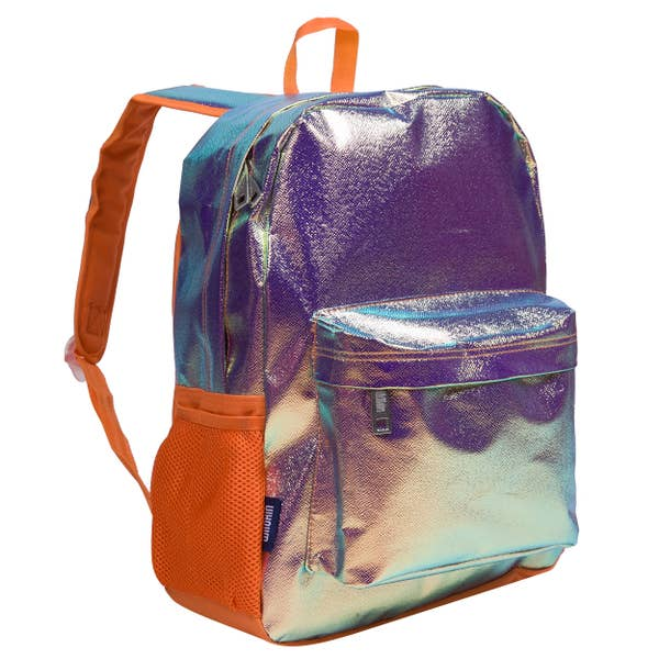 Wildkin Orange Shimmer 16 Inch Backpack