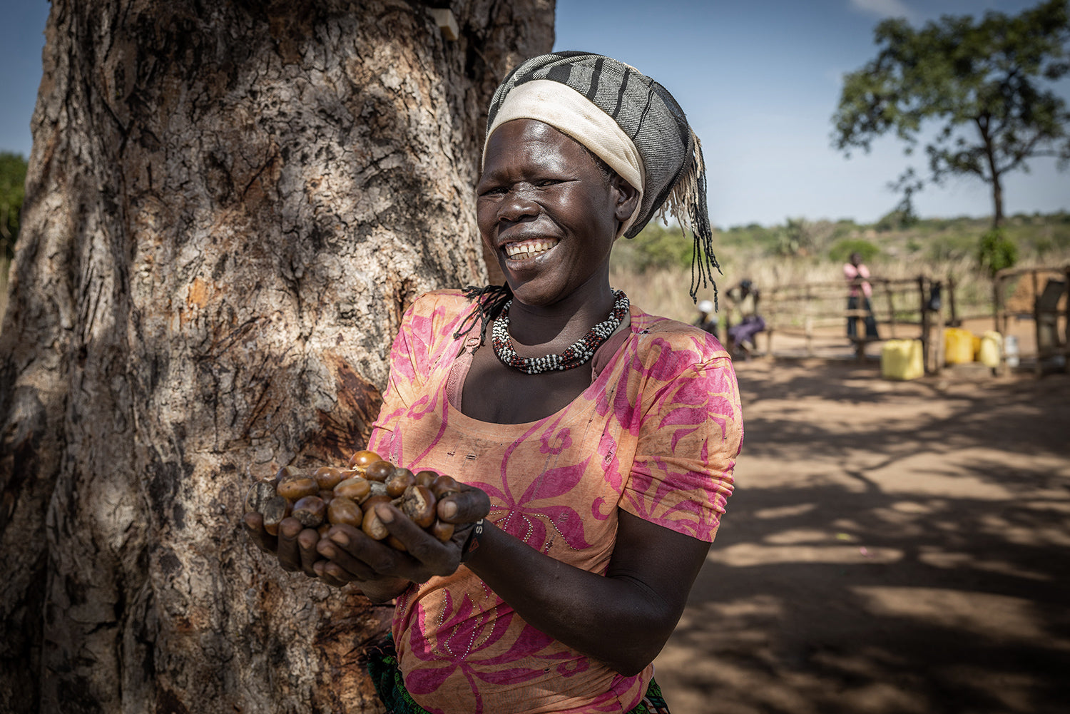 Our shea is sustainably sourced from women in Northern Uganda
