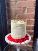 Load image into Gallery viewer, Red Velvet Cake with Cream Cheese Frosting.