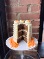 Load image into Gallery viewer, Carrot Cake with Cream Cheese Frosting.