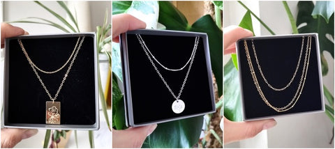 Necklace Layering ideas