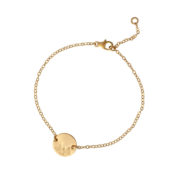 Botanical Gold Bracelet - Forest