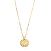 Vermeil Disc necklace