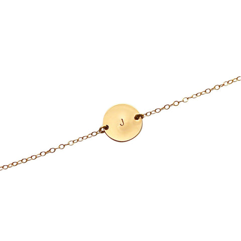 Initial This Gold bracelet