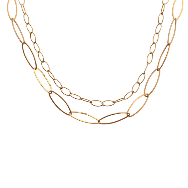 Gold Layered Link chain