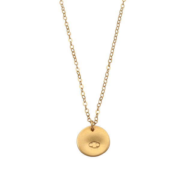 Gold Zodiac Sign necklace