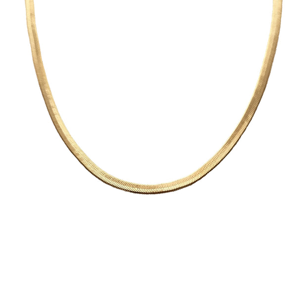 Gold Herringbone chain
