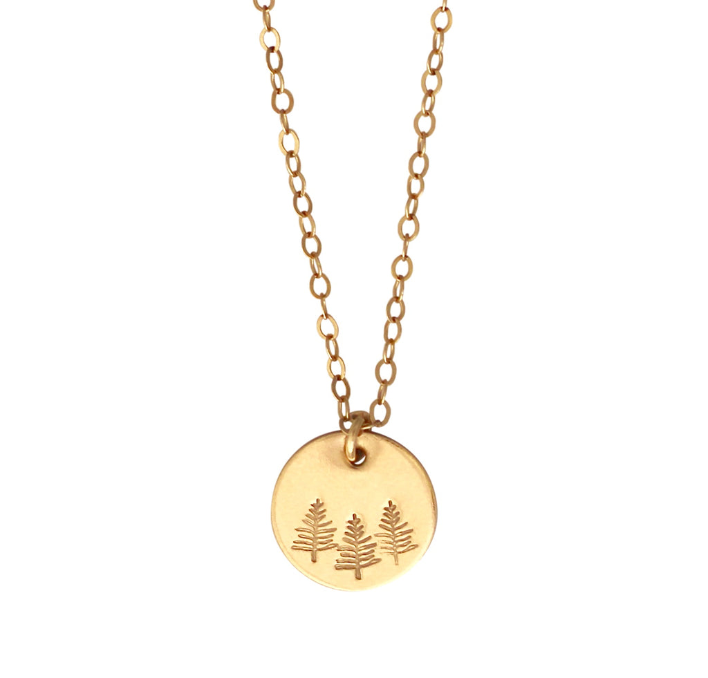 Botanical Forest necklace