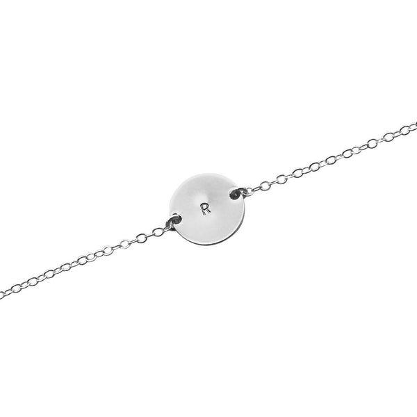 Silver Initial This bracelet
